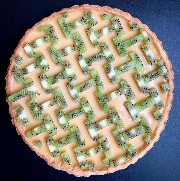 Талантливый пекарь превращает вкусные пироги в авангардные произведения искусства Интересное