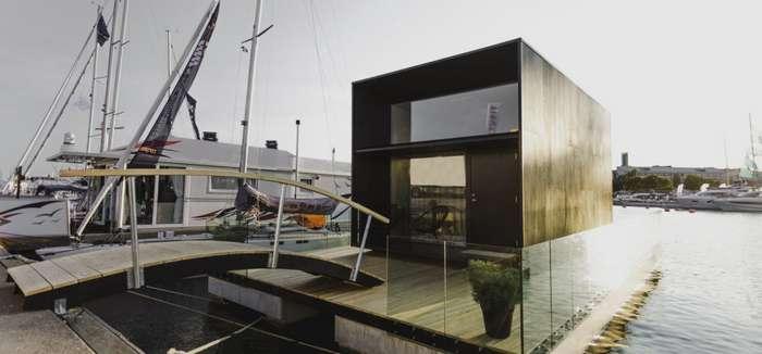 Плавучий дом KODA: устойчив к глобальному потеплению и повышению уровня океана Интересное