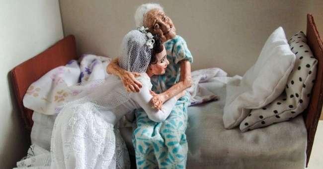 Мастерица изСибири создает доболи правдоподобные сюжеты изжизни пожилых людей Интересное