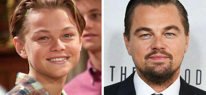 Посмотрите, как изменились звезды Голливуда современ своих первых ролей Интересное
