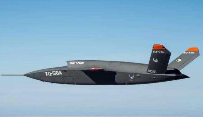 В США прошли испытания беспилотного истребителя «Валькирия»  Интересное