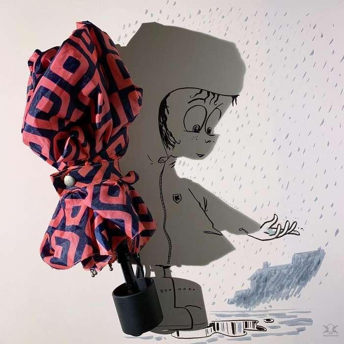 Причудливые иллюстрации Винсента Баля, созданные с помощью теней