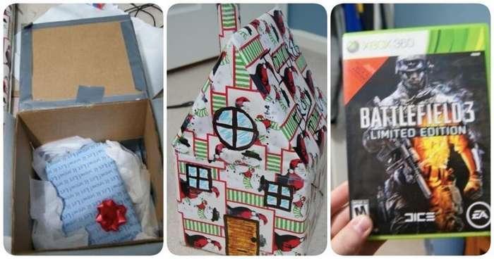 Догадаетесь, что там? 15 замаскированных подарков, оригинальная упаковка которых ломает мозг                      Интересное