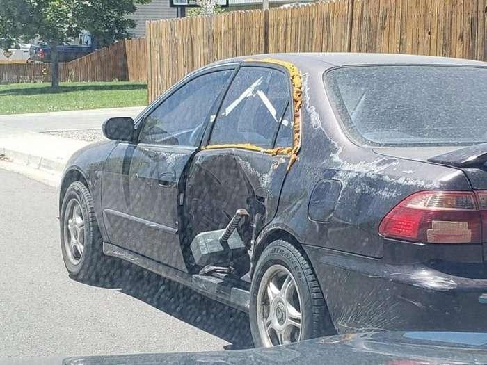 Подборка автомобильных приколов                      юмор