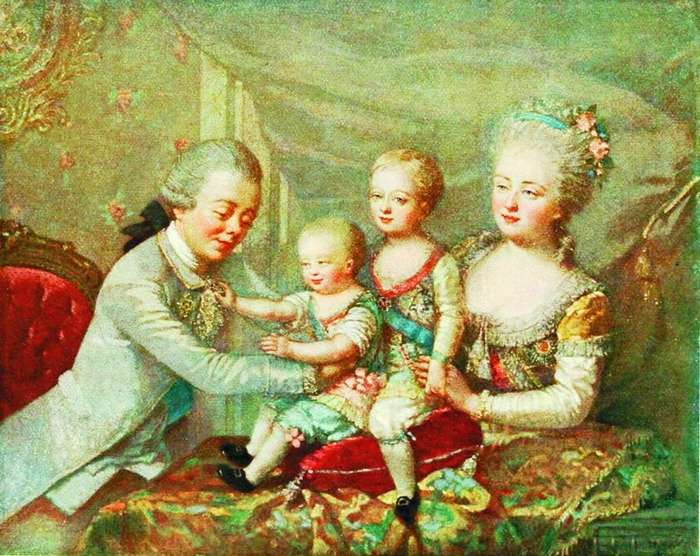 Инструкция Екатерины II по воспитанию внуков-1 фото-