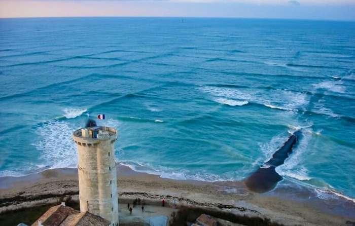 Уникальное явление природы «Перекрестное море»                      Интересное