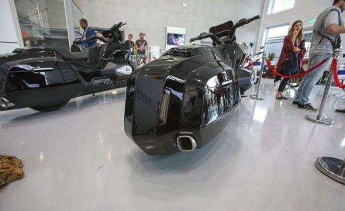 Новое творение концерна Калашникова — тяжелый мотоцикл                      Интересное