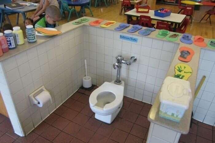 Ванные комнаты и туалеты, дизайнер которых явно был не в себе                      Интересное