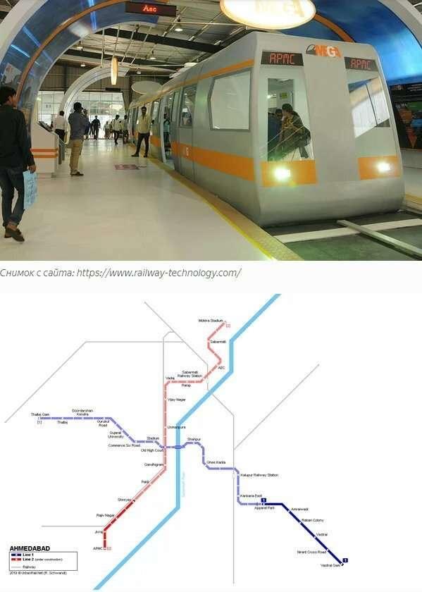 Самые маленькие метрополитены мира-11 фото-