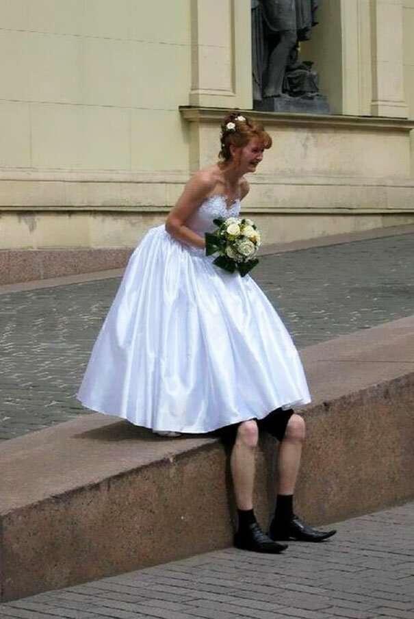 14 свадебных фотографий, бессмысленных и беспощадных                      Интересное