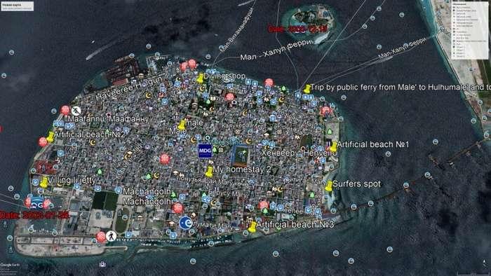 Малобюджетная поездка по четырём мальдивским островам. Часть II Остров Мале-21 фото-