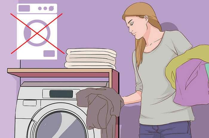 Какие вещи не стоит стирать в машинке Интересное