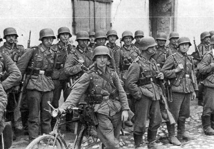 Почему солдаты времен Второй мировой войны не носили камуфляж на полях сражений Интересное