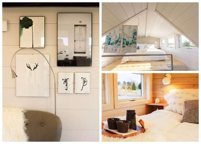 Дачный домик площадью всего 30 кв. м., в котором можно не только жить, но и ездить с огородом в придачу