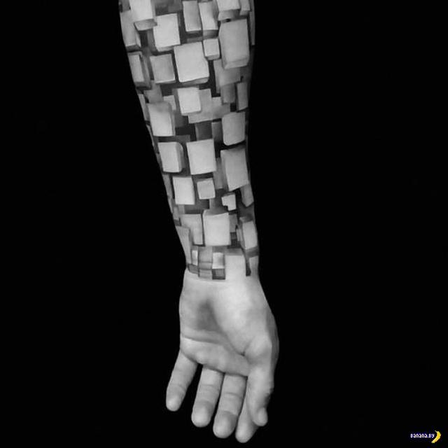 Татуировки на зависть - 117 - Три измерения!
