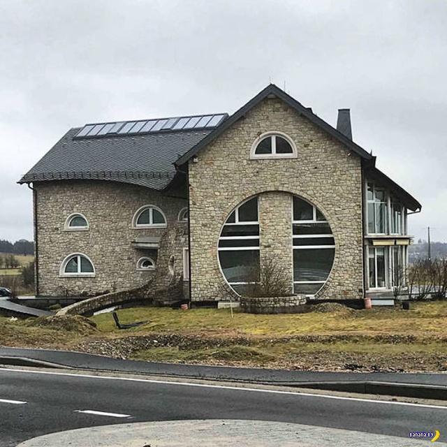Уродливая бельгийская архитектура Интересное