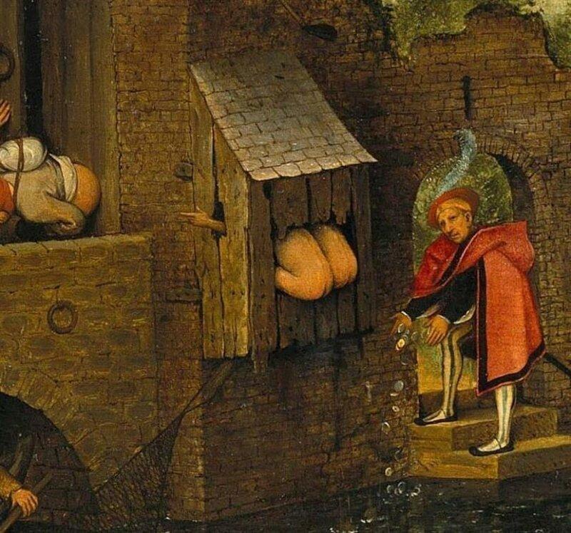 Как в средние века справляли нужду