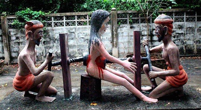 10 внушающих ужас статуй, на которые стоит взглянуть                      Интересное