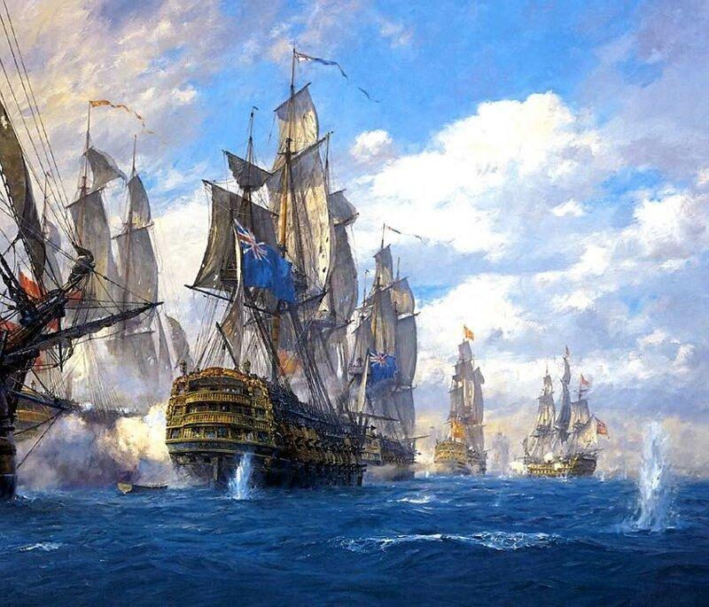 Главный козырь английского кораблестроения-7 фото-