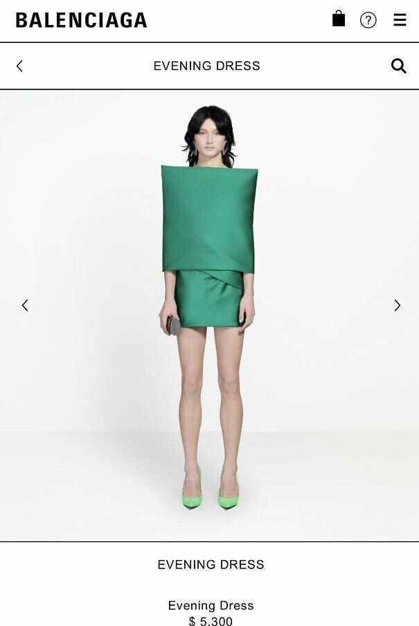 27 раз, когда дизайнеры одежды включили фантазию, но облажались                      Интересное