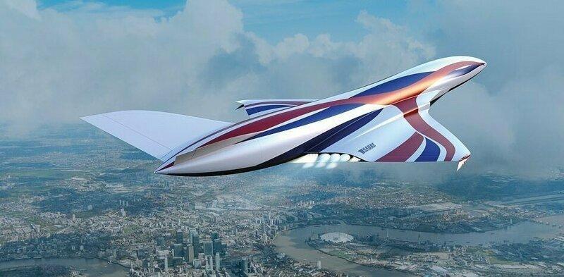 Британцы обещают перенести пассажиров из Лондона в Нью-Йорк за час-7 фото + 1 видео-