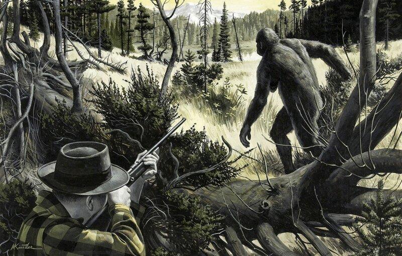 Что говорит наука о йети, чупакабрах и других загадочных существах-12 фото-