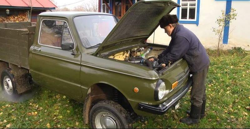 Автолюбитель создал уникальный пикап, использовав кузов от «Запорожца»                      авто