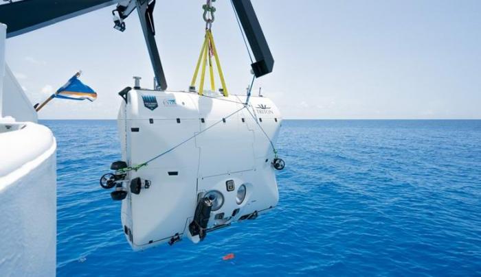 Удивительное существо запечатлели на глубине Индийского океана -2 фото + видео-