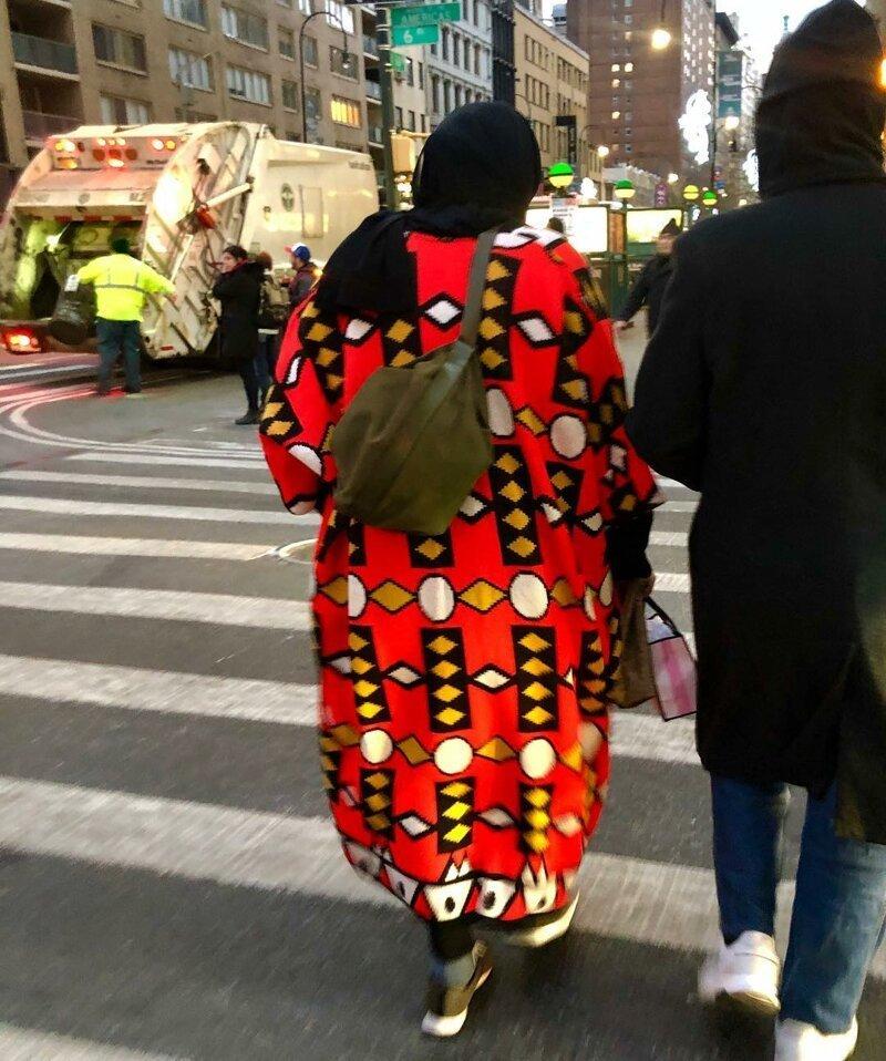 20 нью-йоркских модников, далеких от стереотипов и мнений окружающих. Интересное