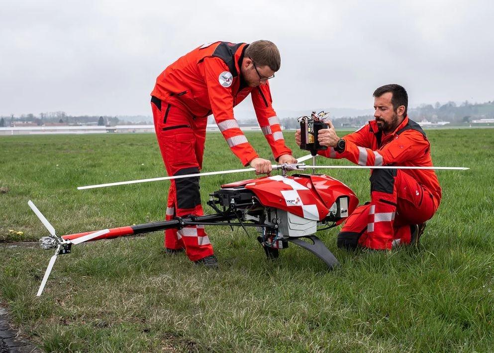 Беспилотник может самостоятельно искать пропавших людей: новый аппарат анонсирован швейцарской спасательной службой