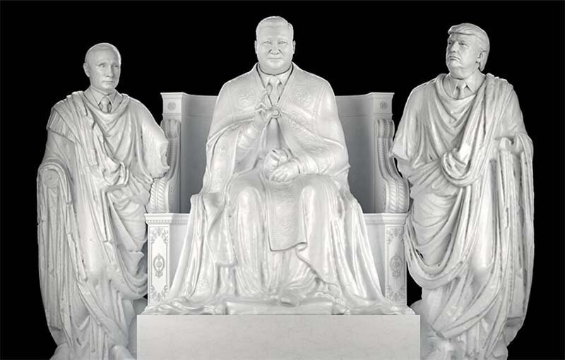 Дизайнер из Нью-Йорка создал современных богов                      Интересное