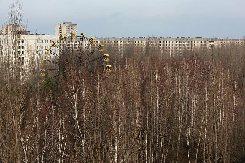 Чернобыль после трагедии картинки