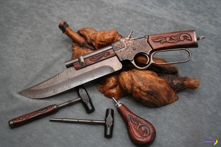 Когда оружие было красивым! Интересное
