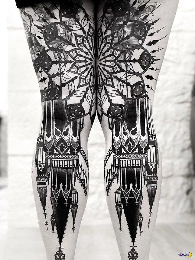 Татуировки на зависть - 120 - Ноги!