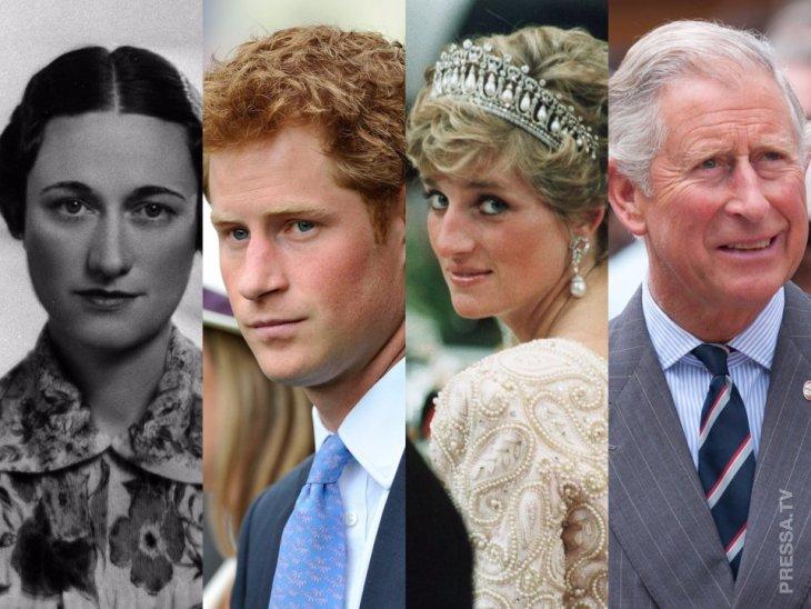 12 крупнейших скандалов британской королевской семьи Интересное