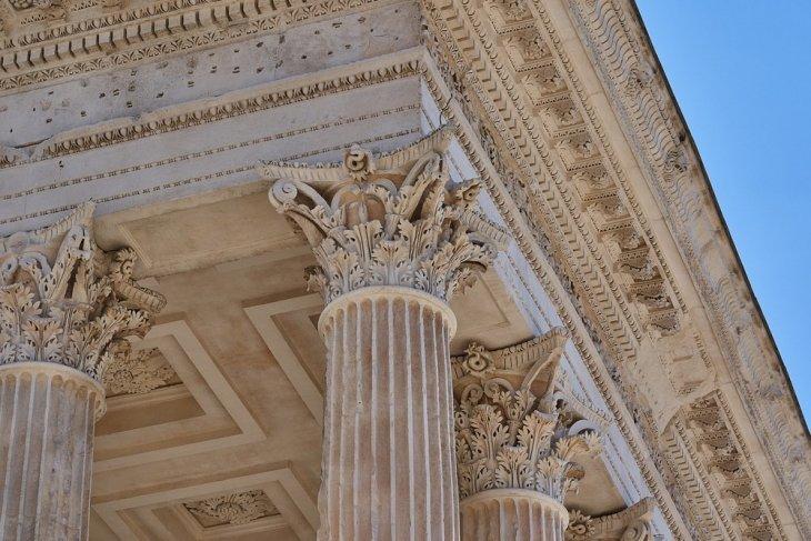 Мезон Карре — самый неповрежденный древнеримский храм Интересное