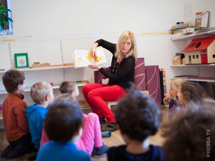 Детские сады в разных странах мира интересное