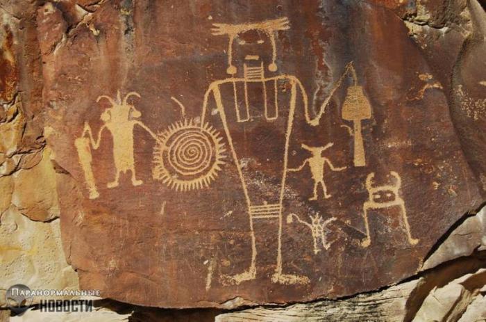 Тайны подземного народа Людей-муравьев из легенд индейцев хопи -6 фото-