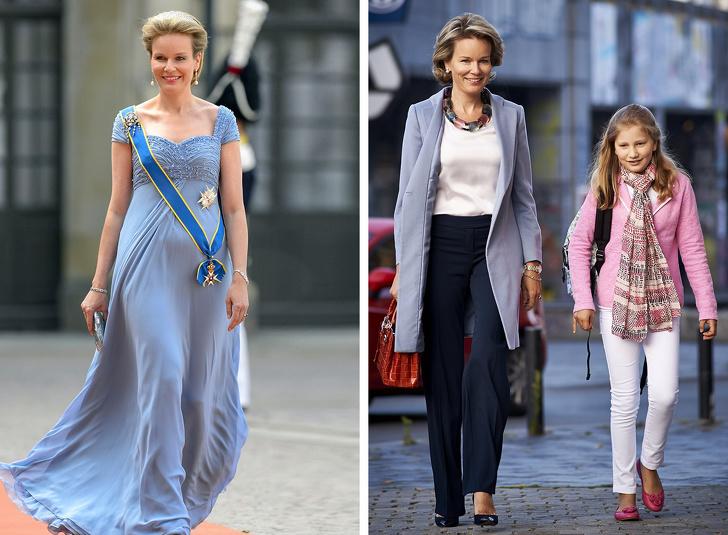 Как выглядят королевские особы и первые леди в обычной жизни  Интересное