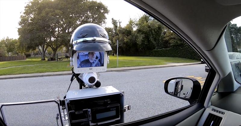 Будущее наступило: Инженеры построили робота-полицейского-2 фото + 1 видео + 4 гиф-