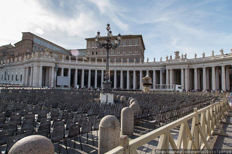 Прогулка по Ватикану и Собору Святого Петра-28 фото-