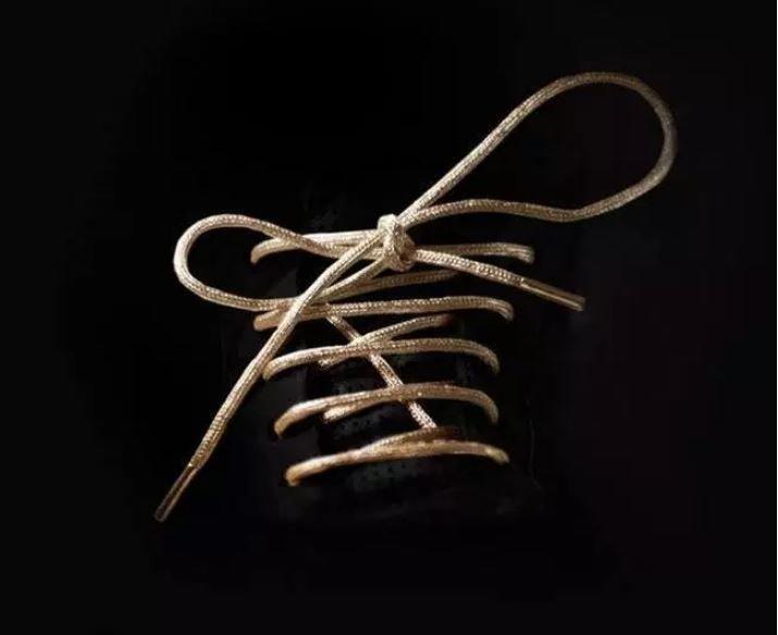 Шнурки, галстуки и другие повседневные вещи, которые сделали из настоящего золота Интересное