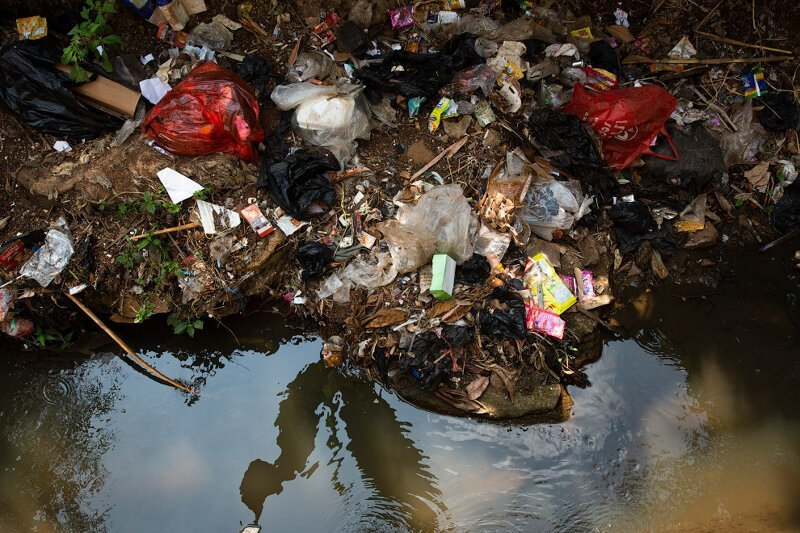 Читарум: как выглядит самая грязная река планеты                      Интересное