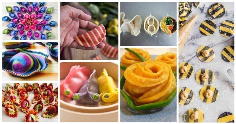 30 необычных форм, видов и окрасок пельмешек и прочих тесто-мясных «пончиков»                      Интересное
