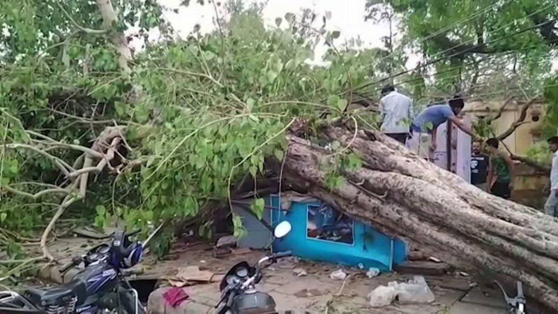Сильнейшая песчаная буря в Индии убила больше 140 человек                      Интересное