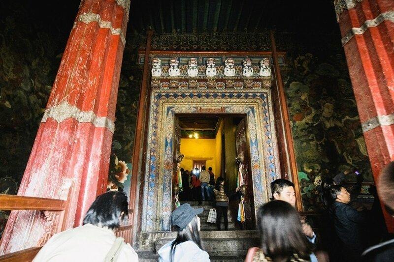 Прогулка по главному дворцу Тибета-10 фото-