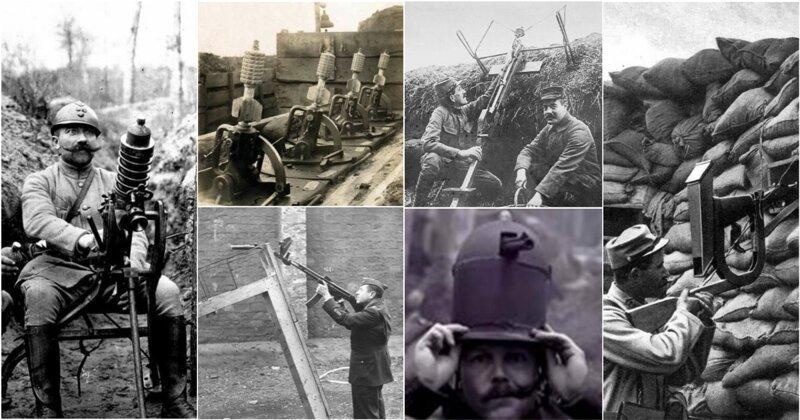 15 первых орудий для стрельбы из укрытия, которые вас непременно удивят                      Интересное