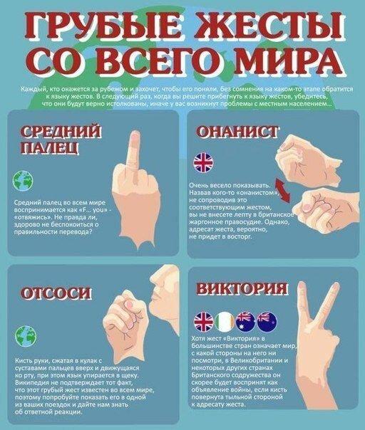 Грубые жесты мира-5 фото-