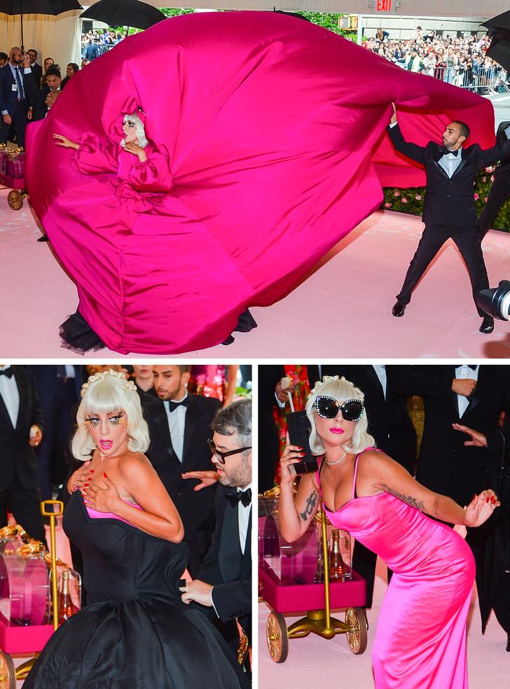 Почему на бал Met Gala звезды одеваются так, будто сошли с ума? Мы нашли ответ и выбрали лучшие костюмы церемонии-2019 Интересное
