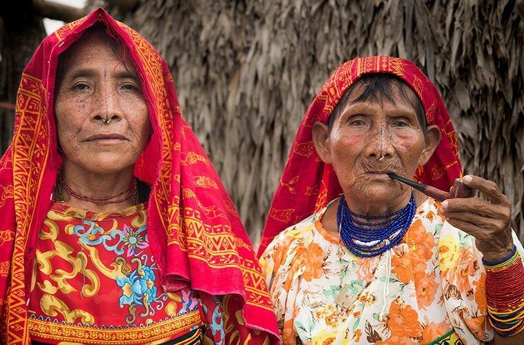 Индейское племя, в котором правят женщины                      Интересное